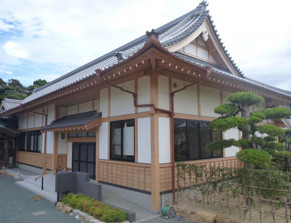 全久院 庫裡(石場建て・伝統的構法 新築)