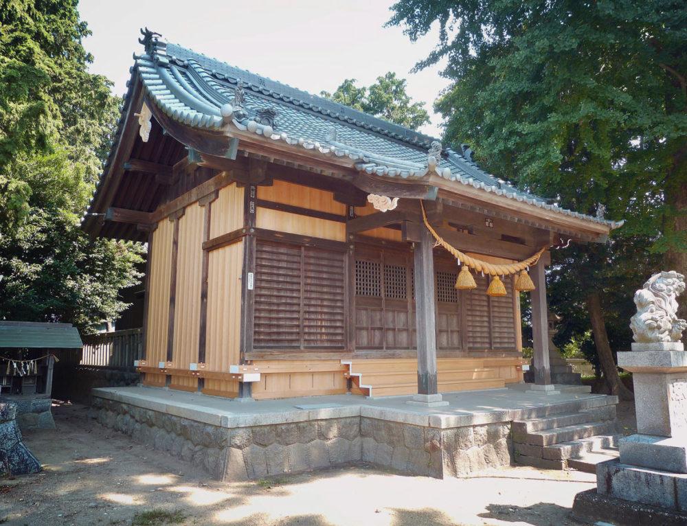 新栄神明社(伝統構法による耐震補強工事)