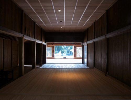 東田神明宮(拝殿 幣殿 渡殿 改修工事・祭器庫 増築工事)